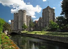 Canterbury westgate towers Stock Photos