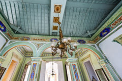 Cantero宫殿-特立尼达,古巴 库存图片