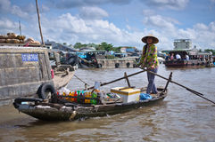 Cantho floating market Stock Images