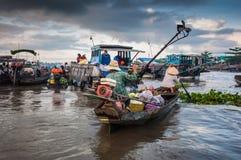 Cantho floating market Stock Photos