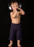 Canti il bambino. fotografia stock libera da diritti