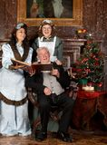 Canti natalizii antichi immagini stock