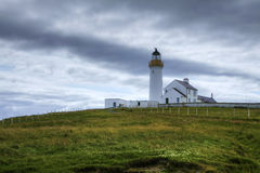 The Cantick Head Light on the Island of Hoy, Orkney Royalty Free Stock Photo