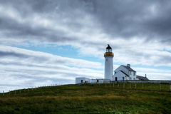 The Cantick Head Light on the Island of Hoy, Scotland Stock Photography