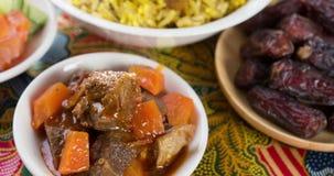 Cantidad árabe del arroz metrajes