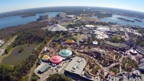 Cantidad aérea de Disney almacen de video