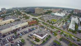 Cantidad aérea de Miami del norte almacen de metraje de vídeo