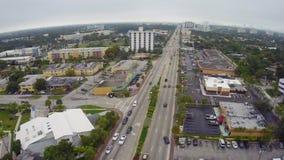 Cantidad aérea de Miami del norte metrajes