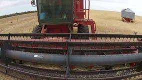 Cantidad aérea del cultivo rural de la granja almacen de video