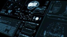Cantidad de alta resolución del interfaz futurista libre illustration
