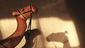 Cantidad de cuero del hd de la sombra de la estatua del camello almacen de video