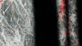 Cantidad de piedra de m?rmol natural del hd del fondo de la sombra nadie almacen de metraje de vídeo