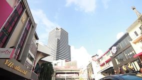 Cantidad Tailandia del vdo de Bangkok metrajes