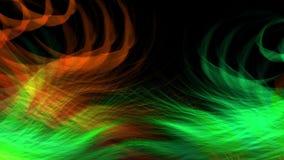 Cantidad video animada colorida del fondo