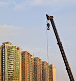 Cantiere in Cina Fotografie Stock