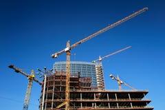 Cantiere concreto del highrise Fotografia Stock