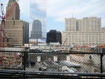 Cantiere del World Trade Center Fotografia Stock Libera da Diritti