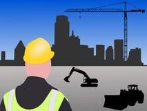 Cantiere di Dallas illustrazione di stock