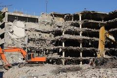 Cantiere di demolizione Immagini Stock Libere da Diritti