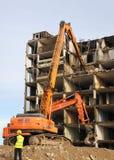 Cantiere di demolizione Immagini Stock