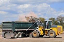 Cantiere di demolizione della costruzione Fotografia Stock