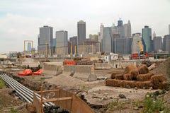 Cantiere di New York. fotografia stock
