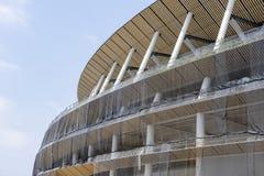 Cantiere di nuovo stadio nazionale a Tokyo fotografia stock