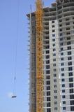 Cantiere di palazzo multipiano fotografia stock