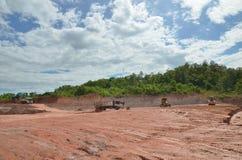 Cantiere ed attività della costruzione Fotografia Stock