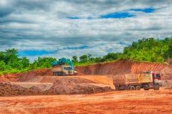 Cantiere ed attività della costruzione Fotografia Stock Libera da Diritti