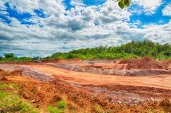 Cantiere ed attività della costruzione Fotografie Stock Libere da Diritti