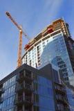 Cantiere, grattacieli. Fotografie Stock Libere da Diritti