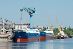 Cantiere navale Fotografia Stock Libera da Diritti