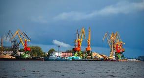 Cantiere navale Fotografie Stock Libere da Diritti