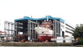 Cantiere navale della Cina Immagini Stock Libere da Diritti