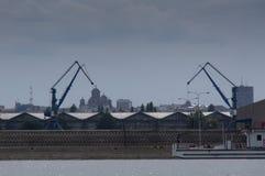 Cantiere navale di Belgrado Fotografia Stock Libera da Diritti