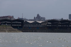 Cantiere navale di Belgrado Fotografia Stock