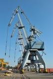 Cantiere navale in galati, Romania Fotografia Stock Libera da Diritti