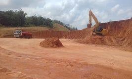 Cantiere in Sri Lanka Immagine Stock