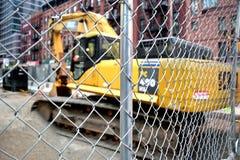 Cantiere urbano fotografia stock