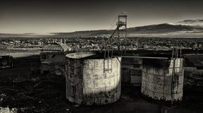 Cantieri abbandonati Fotografia Stock