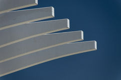 Cantilever ribs Royalty Free Stock Photography