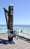Cantilever Winch Stock Image