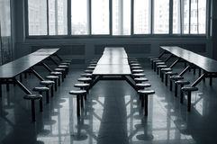 Cantina de la escuela Fotografía de archivo