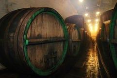 Cantina della fabbrica di birra Fotografie Stock Libere da Diritti