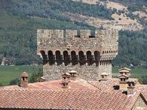 cantina della torretta del castello Fotografia Stock