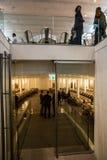 Cantina di Cheval Blanc del castello, emilion del san, banca giusta, Bordeaux, Francia Immagini Stock