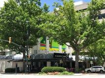 Cantina 76 gelegen auf Main Street in Kolumbien, South Carolina Stockfotografie