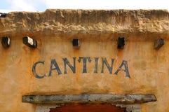 Cantina im alten Westen Lizenzfreies Stockbild