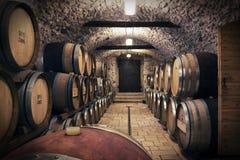 Cantina per vini antica Immagini Stock